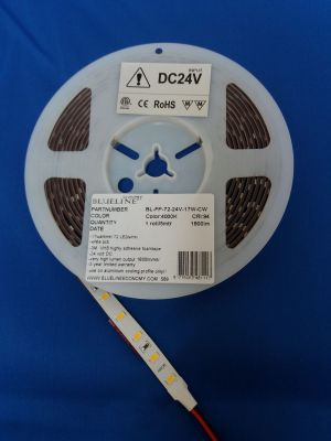 Blueline high power LED strip 19W 2500lm RA>90 HO 4000K 24V