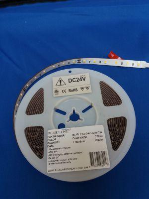 Blueline low power LED strip 9,6W 1500lm RA>90 HO4000K 24V