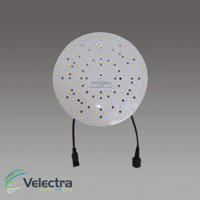ronde led modulen 20cm 3000k 150 lm/w leds + magneet +500mA driver 1300 lumen
