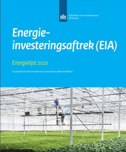 Belangrijkste punten EIA lijst 2021