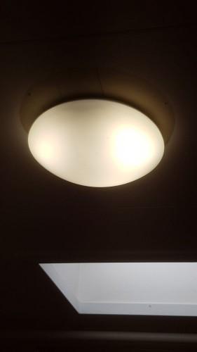 LED Luna 10watt, voor de gangpaden en toiletgroepen
